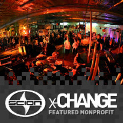 We are a Scion x-CHANGE featured nonprofit!